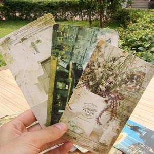 巴黎铁塔-复古明信片(20张入)