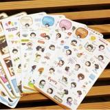 饼干女孩贴纸(10张)0003