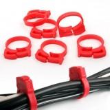 桌面电线固定扣/电源固线夹-齿轮集线器(6个装)CC-901