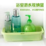 浴室沥水收纳篮 3001 绿色