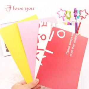 日韩特大信纸信封套装NJ-034-02