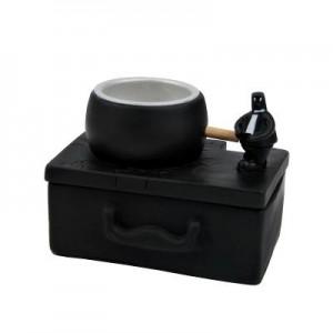 小恶人系列之公文包胶纸座+回形针盘杂物盒(C125)