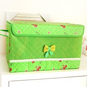 绿色苹果收纳箱 小号