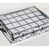 正品嘉居伴侣 秋逸乐章系列-时尚创意24格透明有盖内衣盒收纳整理箱