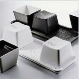 高品质 时尚创意Ctrl Ait Del键盘按键造型极简水杯三件套 多款
