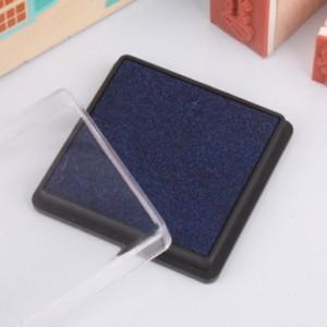 方盒彩色印泥(深蓝色)