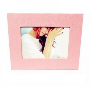 简约环保台式相框/7寸相架--粉色心情(k7-1)