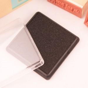 方盒彩色印泥(黑色)
