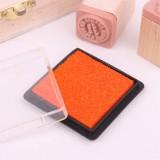 方盒彩色印泥(橙色)