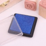 方盒彩色印泥(浅蓝色)