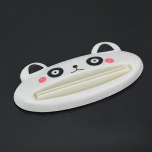 可爱动物多功能挤压器/挤牙膏器--白色熊猫