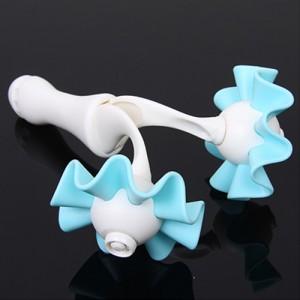 达贺 第三代花朵造型双滚轮腿部按摩器(10058)混色