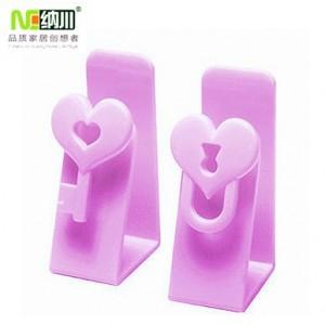 纳川牌 高品质门后挂钩 两个装 A0122(紫色)