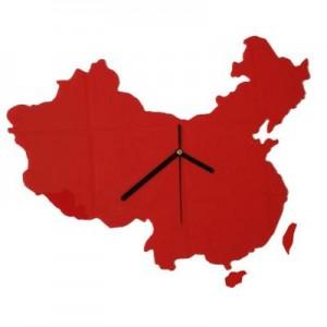 创意中国地图挂钟/静音挂钟(2028)