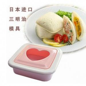 厨房DIY三明治制作器/口袋面包机/模具-爱心