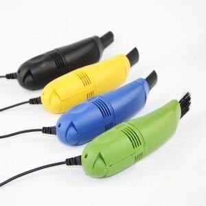 笔记本电脑USB吸尘器/键盘吸尘/微型吸尘器-深蓝色 150个/箱