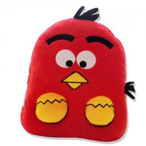 豪华至尊型全包拉链式红色小鸟USB暖脚宝
