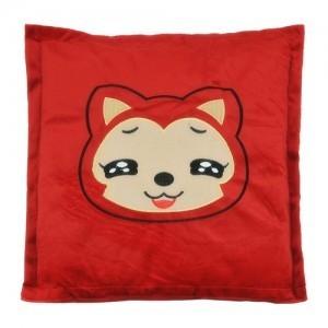 冬季必备 USB电暖坐垫/发热靠垫/保暖抱枕 NZD-10-红狸狸