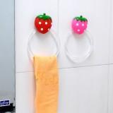 草莓吸墙毛巾挂