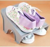 多用收纳空间DIY整理鞋架 日式大阪城鞋架 灰色