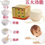 婴儿食物调理研磨器套装6件套(589)
