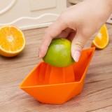 迷你手动小船榨汁机 榨汁器 橙色