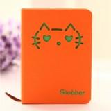 猫咪表情硬抄手册 108张(LB-36K11239)大号 橙色