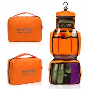 大容量可挂式户外旅行防水洗漱包 Travel 绿色
