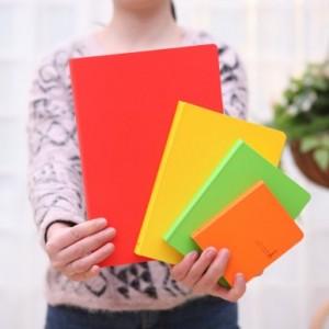 你好色彩硬抄本 126张大号(LB18K10-0141) 红色