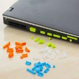 通用型笔记本电脑防尘塞(13个装) 橘色