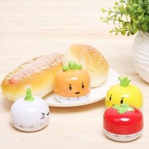 可爱蔬菜厨房定时器 RB208 黄色