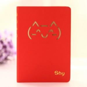猫咪表情硬抄手册 96张(LB-128K11237)小号 橙色