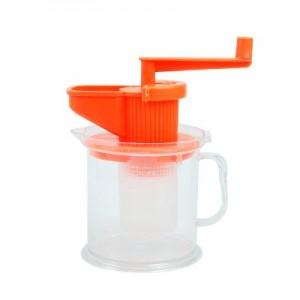 苹果型 榨汁机手动榨汁机婴儿手摇豆浆机慢磨果汁机外星人榨汁机