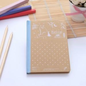 韩国文具自然物语系列纸面精装本 记事本 MH13-1492 粉色