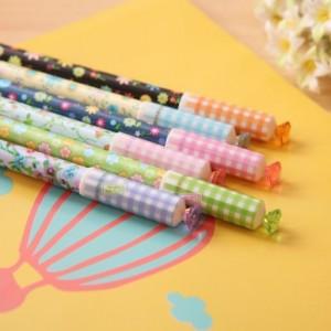 """韩国文具""""Crystal flower""""钻石中性笔 PA-223(12支盒)单支售 粉色"""