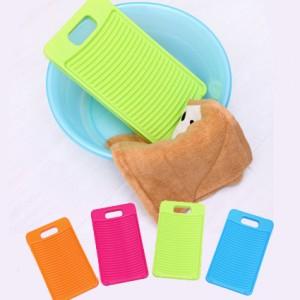 正品专利 高档优质糖果色家用塑料迷你洗衣搓衣板 绿色