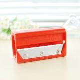 带镜子黄瓜美容切片器 DIY卷笔刀面膜器  红色 200个/箱