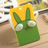 韩国可爱卡片包/钥匙扣立体公交卡套-小绿兔