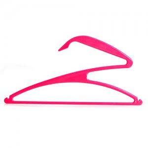 创意Z字形艺术晾衣架 晾晒架-玫红色(3个装)
