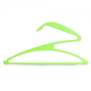 创意Z字形艺术晾衣架 晾晒架-绿色(3个装)