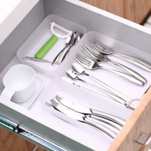 日式多功能抽屉/桌面/厨房整理收纳盒 M