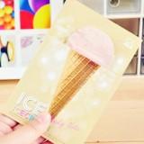 韩国文具 可爱甜筒冰淇淋N次贴 随意贴 便利贴 YST-6032