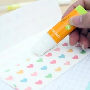 办公用品 糖果色强力固体胶 学生DIY胶水 胶棒 NO.7124