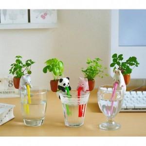 正品 桌面创意绿植DIY盆栽渴渴吸里小植栽 小兔
