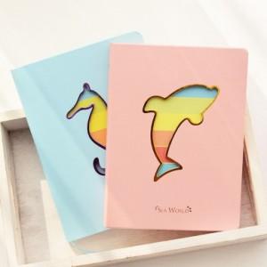 海洋世界炫彩笔记本(中号)YF13-627 绿色