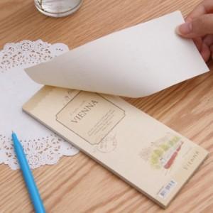 欧美英伦风便签本 复古迷你信纸本