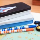创意印第安系列文具盒 时尚笔盒 MH13-461 黑色