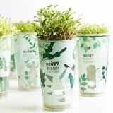 正品 创意办公室盆栽 罐装植栽 乐活栽培罐 百草香草