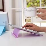 时尚炫彩通用数码支架 懒人平板电脑iPad支架 紫色