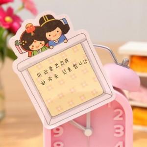韩国文具 可爱娃娃便签本 便利贴  N次贴 JB-007